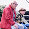 man with grandson photo